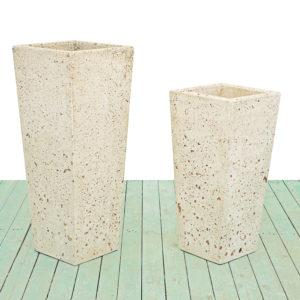 Vasi in cemento - Vaso Cono quadrato
