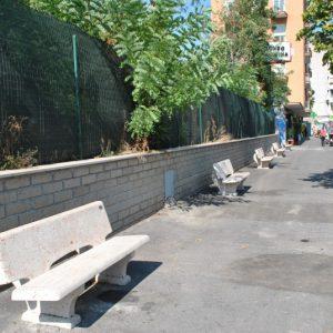 Piazzale Clodio furnishing