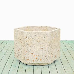 Vasi in cemento - Vaso Esagonale