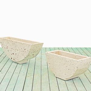 Vasi in cemento - Vaso Barca
