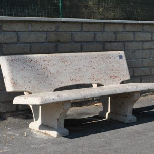 Cement benches - Bench P2