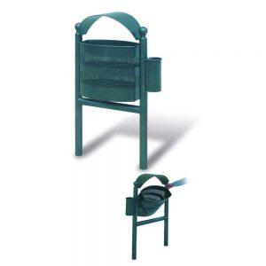 Cestini e cestoni in ferro - Art. 235 - Cestino Alghero