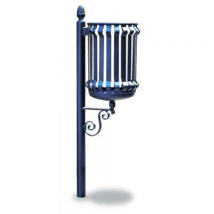 Cestini e cestoni in ferro - Art. 290 - Cestino Barocco