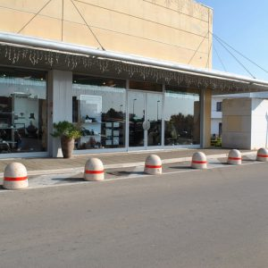 "Outdoor furnishing at ""Ipermac"" shopping center"