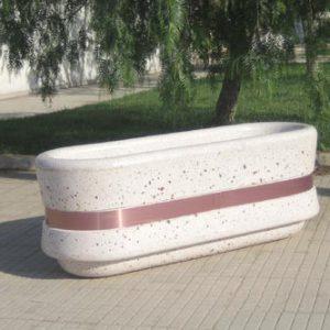 Fioriere in cemento - Fioriera Saturno
