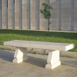 Cement benches - Bench P1
