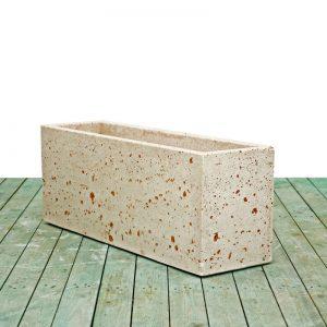 Cement vases - Rectangular vase