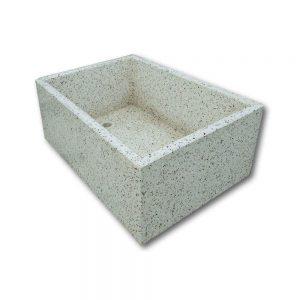 Pile e lavabi in cemento - Pila rettangolare