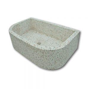Pile e lavabi in cemento - Pila stondata