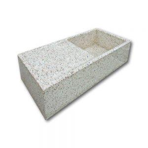 Pile e lavabi in cemento - Pila con scolapiatti