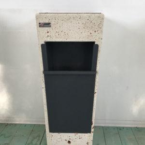 Portarifiuti in cemento - Cestino Portarifiuti e Spegnisigarette