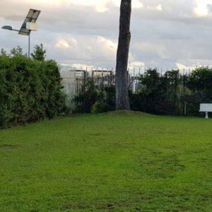 Spazi verdi condominio Roma